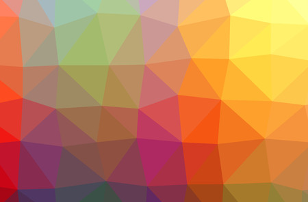 Foto de Illustration of abstract Blue, Orange, Pink, Purple, Red, Yellow horizontal low poly background. Beautiful polygon design pattern. Useful for your needs. - Imagen libre de derechos