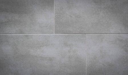 Photo for Gray ceramic tiles on the wall. - Royalty Free Image