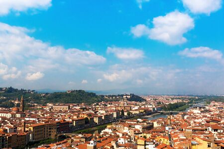 The River Arno in Florence Italy