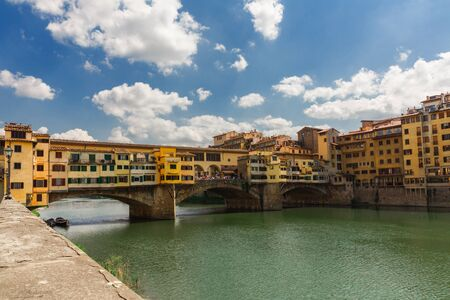 the Ponte Vecchio of Florence in Italy