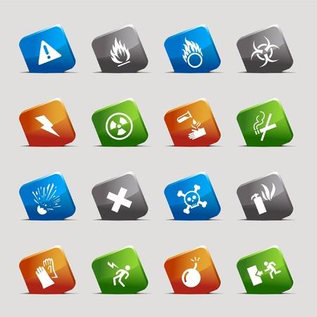 Cut Squares - warning icons