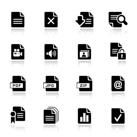 Basic -  File format icons