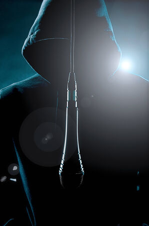 Microphone man