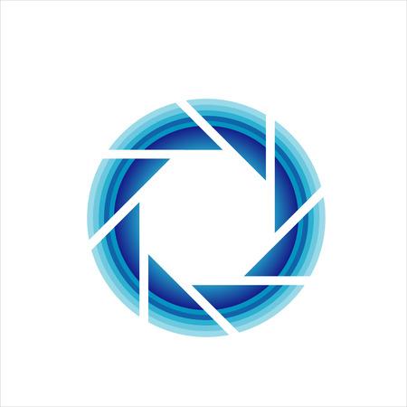 Photography lens symbol