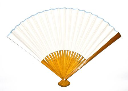 Photo pour A Vintage Antique Hand Fan Ladies Accessory - image libre de droit