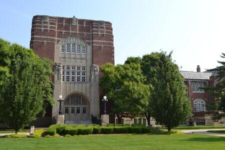 Architecturally exquisite  Stewart Center, Purdue