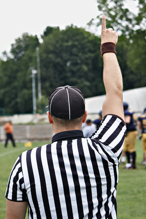 American football referee, rugby referee