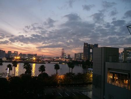 When Tokyo dusk