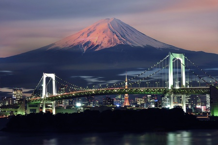 Photo for Mt Fuji surreal view - Royalty Free Image