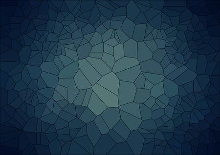 Ilustración de abstract  retro background with ceramic  geometric shapes - Imagen libre de derechos