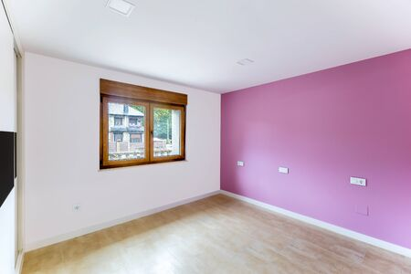 Photo pour Beautiful and colorful empty room. Interior modern room. - image libre de droit