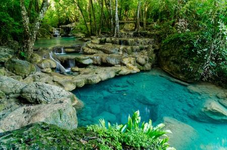 arawan waterfall in Kanchana