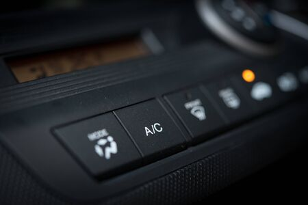 Photo pour Air Conditioner and heating system in a automobile car - image libre de droit