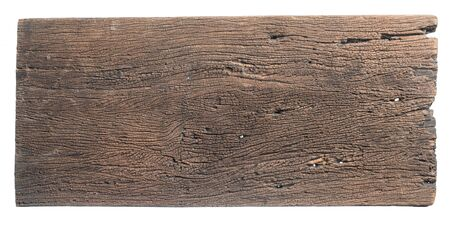 Photo for Old wooden sign board background for add text design - Royalty Free Image