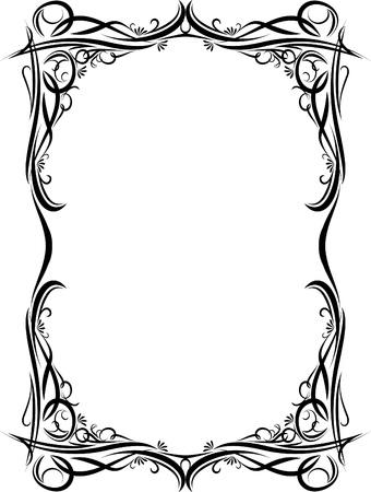Elegant decorative frame.