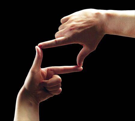 Photo pour Hands - image libre de droit
