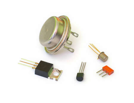A set of transistors of different types