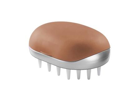 massage brush isolated on the white background