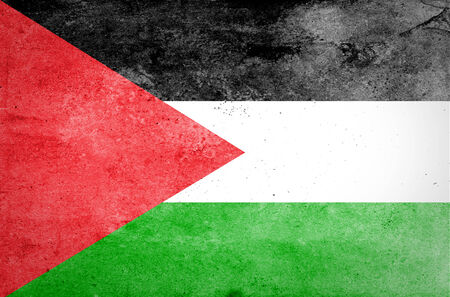 Grunge of Palestine Flag