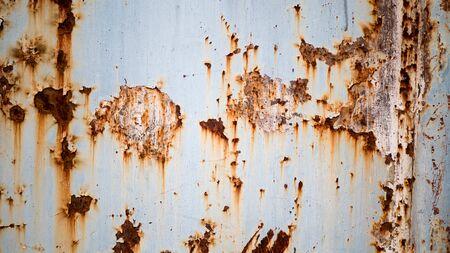 Photo pour Rusting up the old iron gate - image libre de droit