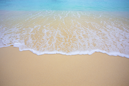 Photo for Soft wave and beautiful beach - Royalty Free Image