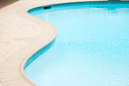 swimming pool close up