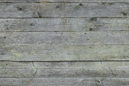 Photo for Closeup background texture photo of rustic weathered barn wood with visible shades of green - Royalty Free Image