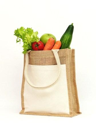 Foto für Organic fruit and vegetables - Lizenzfreies Bild
