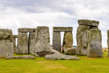 Foto de Stonehenge, a prehistoric monument in Wiltshire, England. UNESCO World Heritage Sites - Imagen libre de derechos