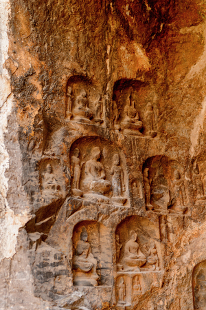 Longmen Grottoes ( Dragon's Gate Grottoes) or Longmen Caves.
