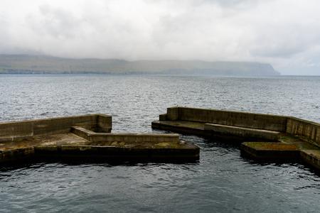 Sandoy, one of the biggest of all the Faroe Islands, autonomous region of the Kingdom of Denmark
