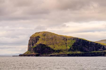 Beautiful nature of Suduroy, the southernmost of the Faroe Islands, autonomous region of the Kingdom of Denmark