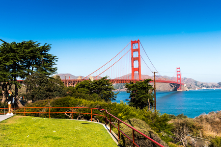 Photo for Golden Gate Bridge, San Francisco, California, United States of America - Royalty Free Image