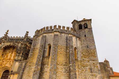 Convent of Christ in Tomar,Portugal.  UNESCO World Heritage Site