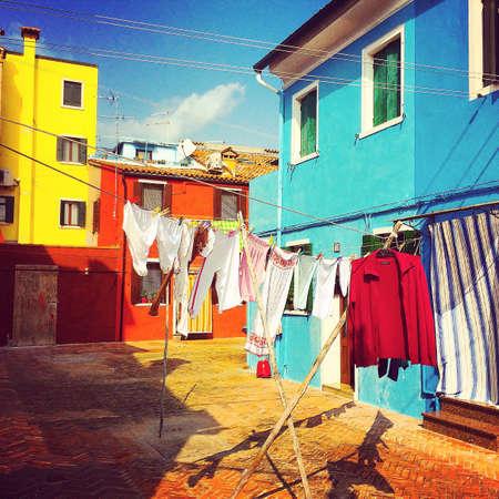 Great day in Burano, Venice