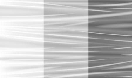 Illustration for transparent plastic warp - Royalty Free Image