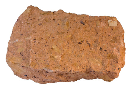 Tuff sample from Armenia. Width of sample 14 cm.