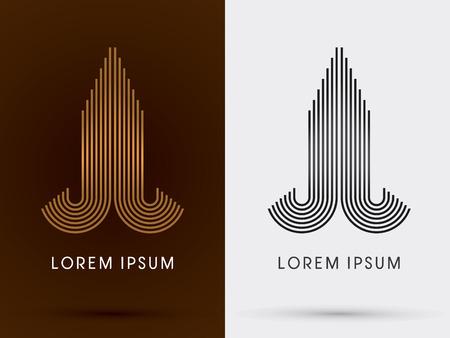 Luxury Building Condominium  abstract  logo symbol icon graphic vector.