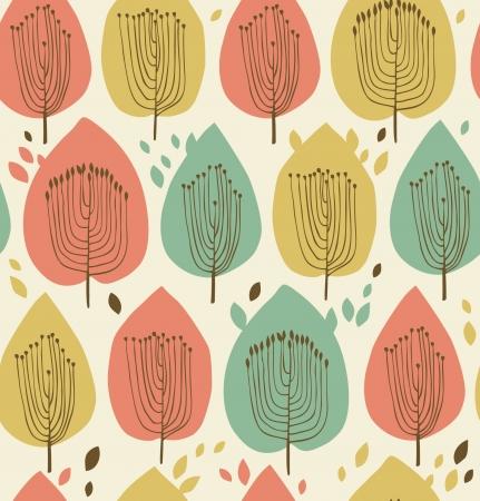 Scandinavian Leaf Pattern