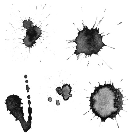 Vector ink blots