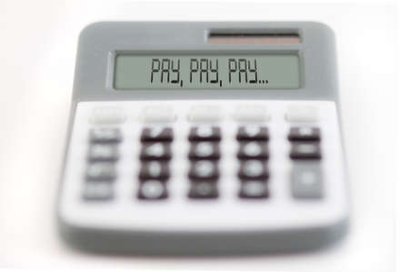 counting of the financial position - pay, pay, pay