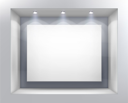 Illustration pour Shop window. - image libre de droit