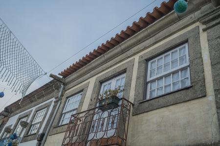 Portuguese house window
