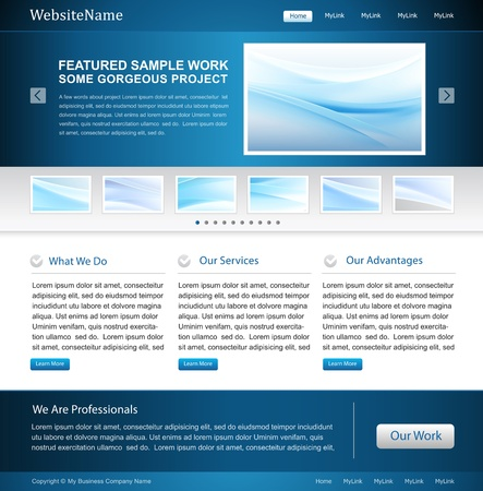 business web site - great for IT, software company