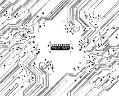 Illustration pour circuit board background texture - image libre de droit