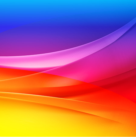 Illustration for colorful backgrounds abstract vector - Royalty Free Image