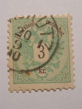Old stamp 3 kr