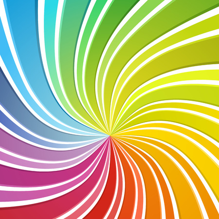 Colorful background. Flowing stripes forming sprectrum colours.