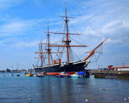 HMS Warrior, Portsmouth, UK, 28/07/11