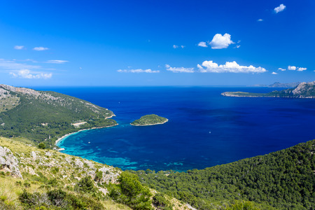 Playa de Formentor - beautiful coast of Mallorca - Spain, Europe
